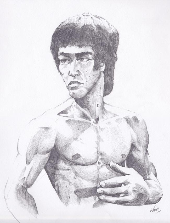 Bruce-Lee-Sketch