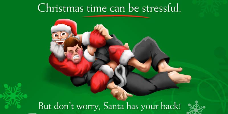 Don't Worry, Santa has your Back – Christmas Cards