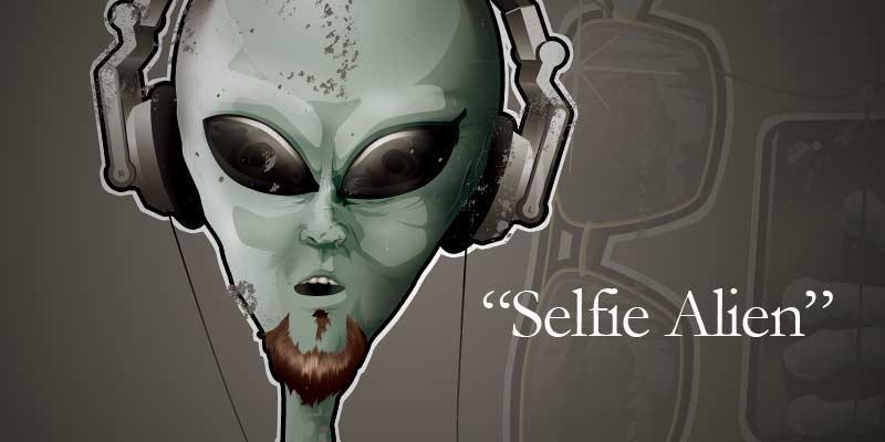 Selfie Alien