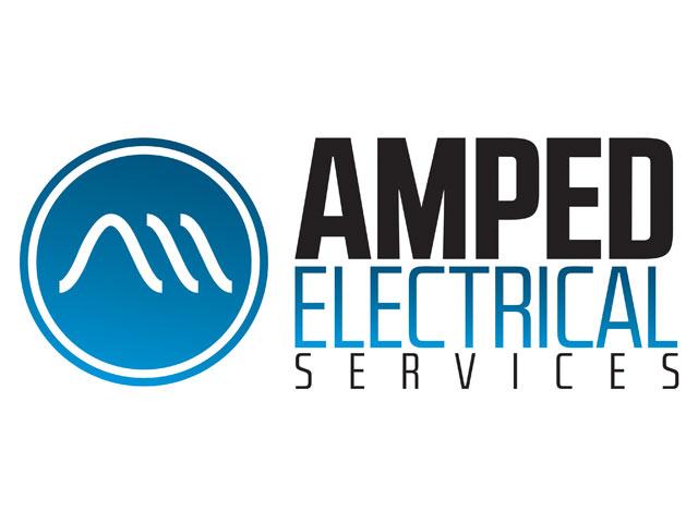 amped electrical logo