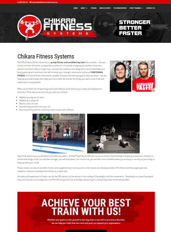 Chikara Fitness Systems