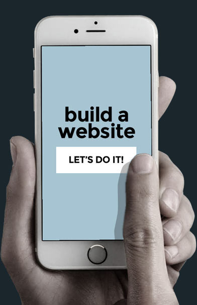 We'll build you a professional website!