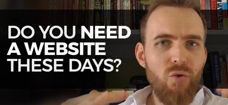 Does your business really need a website these days? (Video)