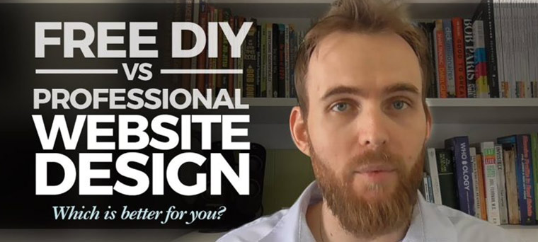 Free DIY vs Professional Web Design